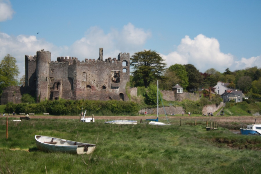 Postcards from  Laugharne's estuary
