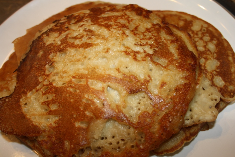 Eggless and dairy freepancakes