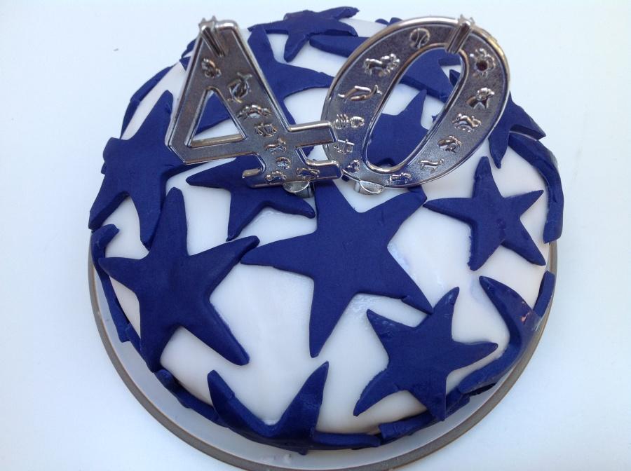 Light and airy birthdaycake