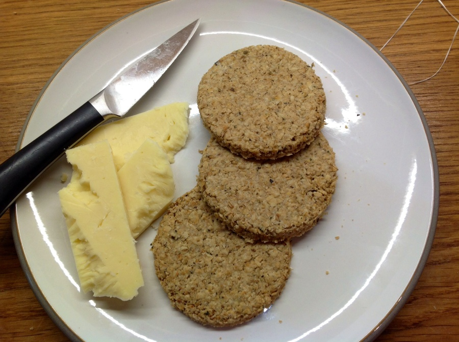 Scottish oat biscuits