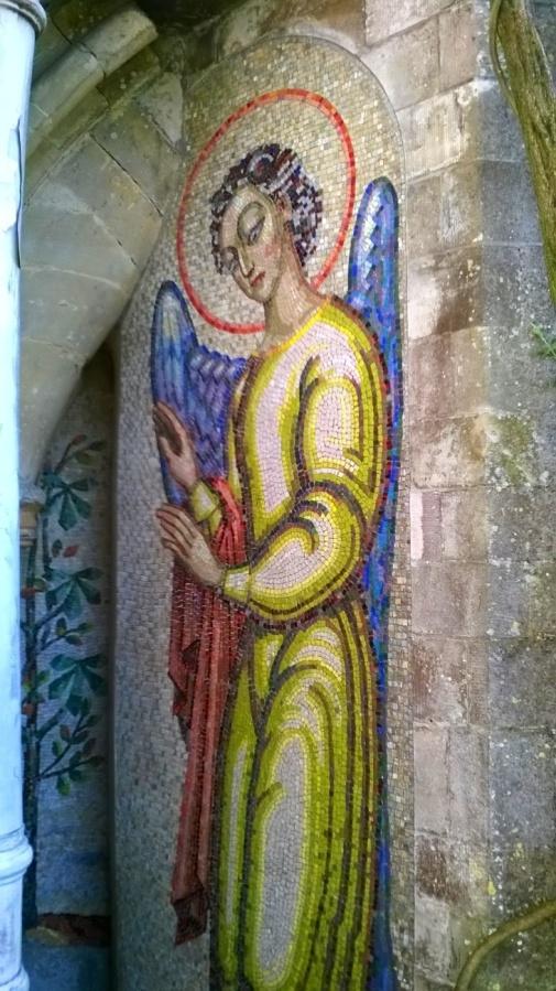 Mottisfont and the mosaicangel