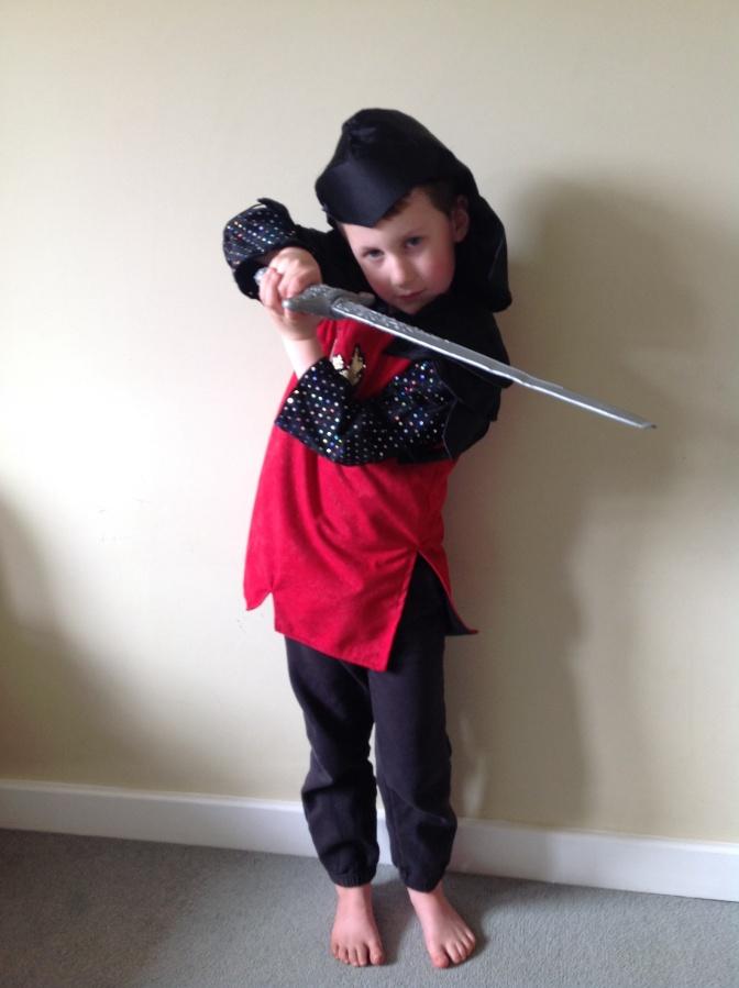My little samurai