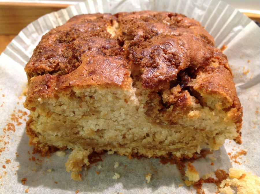 Lucy's friendly caramel marble cake