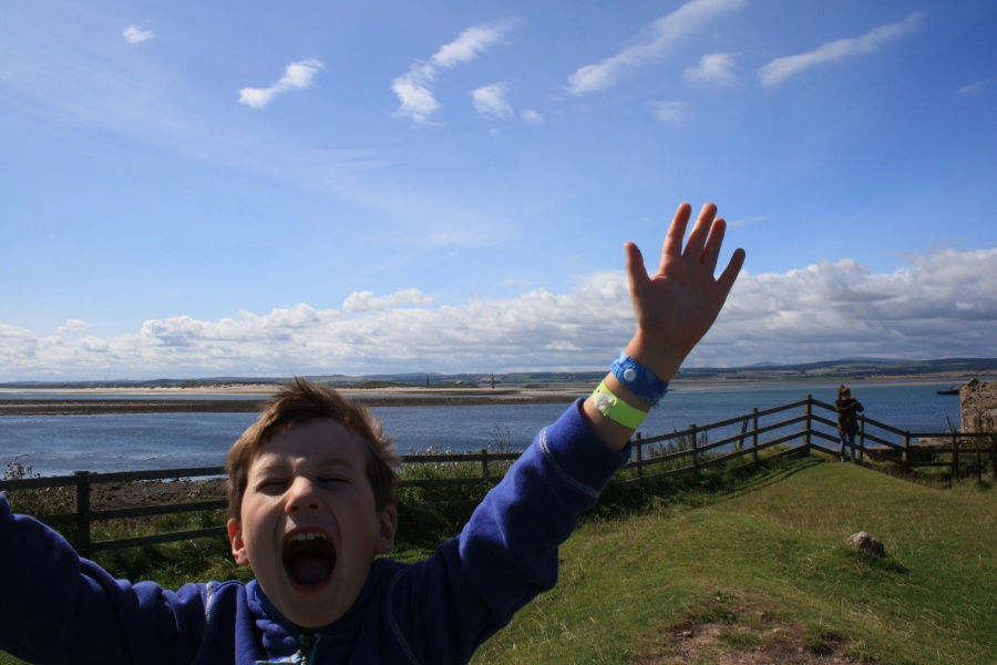 Postcard of views fromLindisfarne