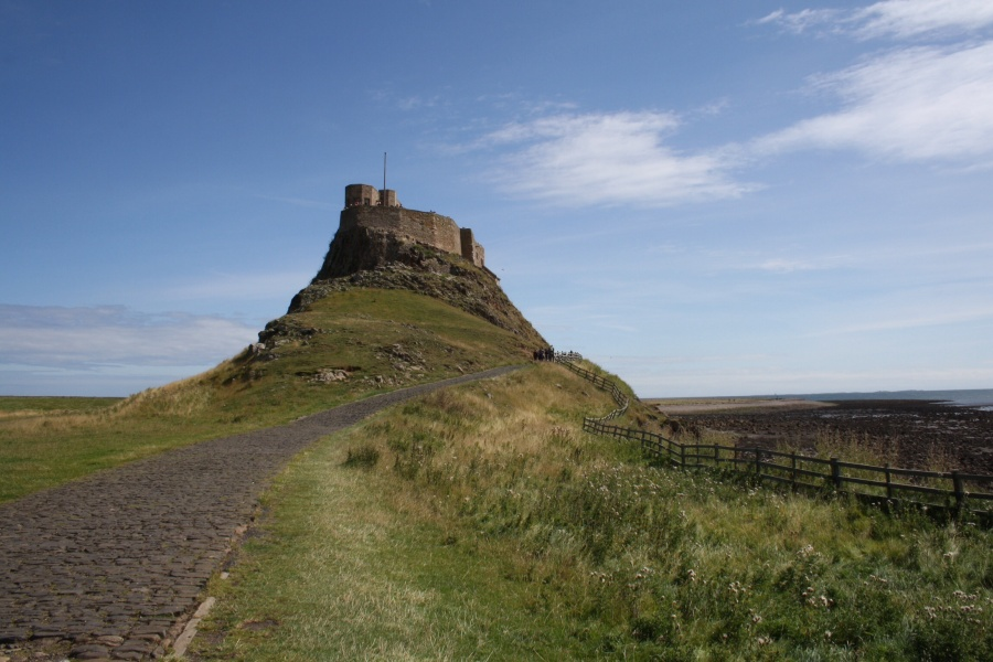 Postcard from Lindisfarne Castle