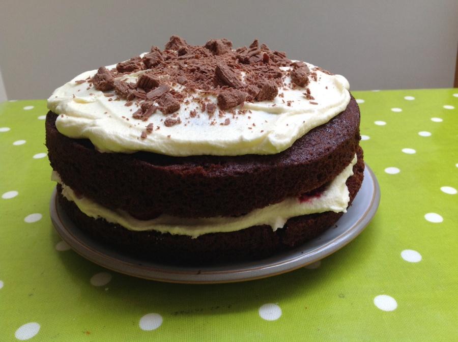 Mary Berry's chocolate celebrationcake