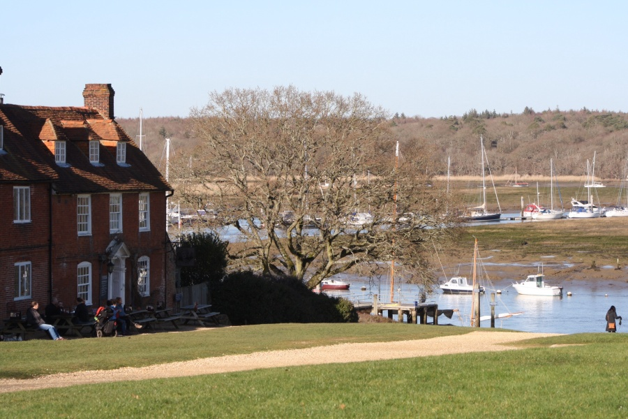 Postcard from Buckler's Hard